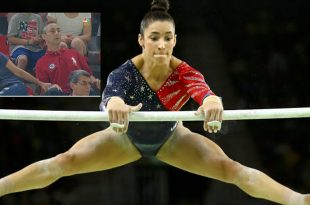 VIDEO: Aly Raisman's Parents Go Viral Again After Nervously Watching Rio Olympics 2016!