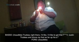 Late Toronto Mayor Rob Ford Smokes Crack in Infamous Video