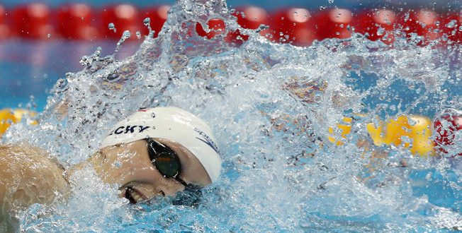 Katie Ledecky Wins Gold, Beats Her Own World Record in 400m Freestyle
