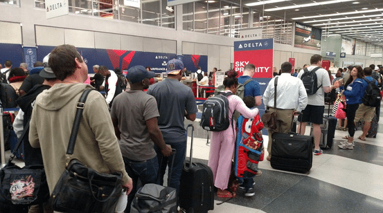 Delta Air Lines Lifts Ground Stop After Computer Shutdown