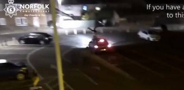 Norfolk, England Police Release Shocking Video of Attempted Murder Hit-and-Run