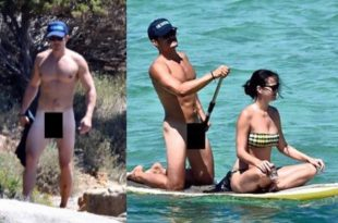 Orlando Bloom Appears in Naked Photos While on Vacation With Katy Perry
