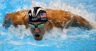 Michael Phelps Wins 23rd and final Gold in Men's 4x100m Medley Relay Final Race