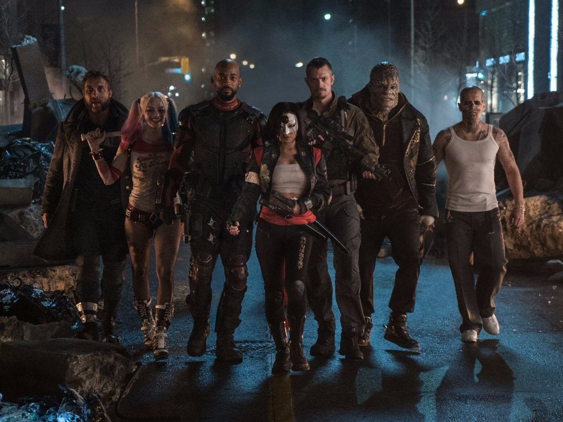 """It hardly matters who the 'Suicide Squad' is fighting or why. These supervillains just don't feel like they belong in the same zip code as DC's gritty urban antiheroes, let alone the same movie,"" The Daily Beast said."