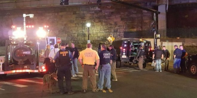 Explosion Reported After 1 of 5 Suspicious Devices Found Outside New Jersey Train Station