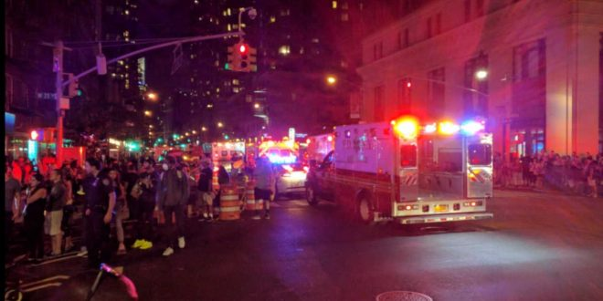 At Least 25 Injured in Explosion in Chelsea, Manhattan