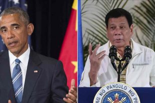 President of the Philippines Calls Barack Obama 'Son of a Whore'