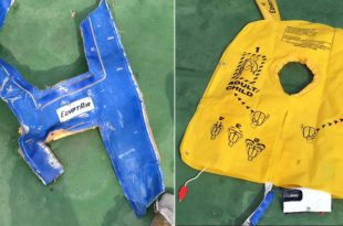 French investigators studying debris recovered from a downed EgyptAir plane claim to have found traces of the explosive material TNT.