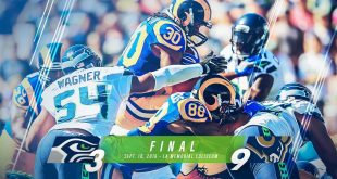 Rams Upset Seahawks 9-3 in 1st Regular-Season Game in LA Since 1994