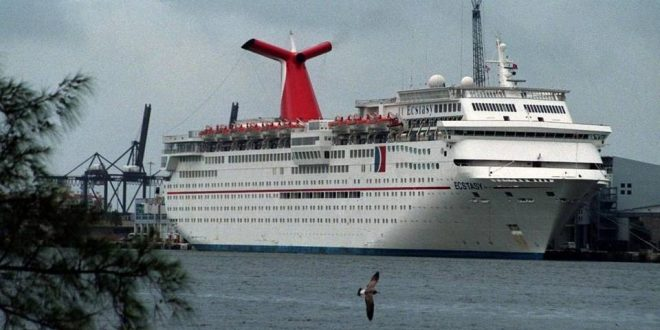 Woman Falls From Carnival Ecstasy Cruise Ship Near the Bahamas