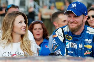 """Dale Earnhardt Jr. was """"pretty sick"""" when he was diagnosed with a concussion eight weeks ago and faced a long, hard road while recovering."""