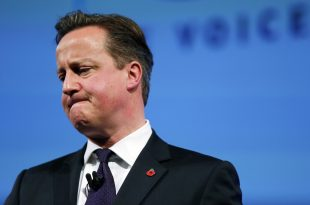 Former British Prime Minister David Cameron Resigns From Parliament