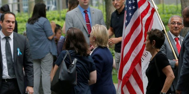 VIDEO Hillary Clinton Appears to Faint At 9/11 Ceremony