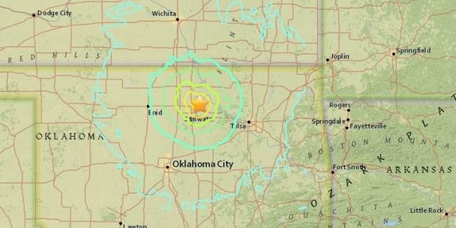 Earthquake Rattles Oklahoma; One Of Strongest Recorded In State