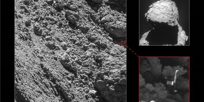 Philae Lander's Grave on Comet Found at Last After Nearly 2-Year Search