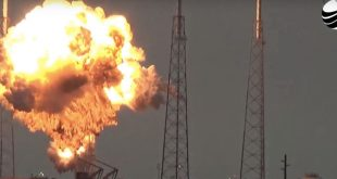 Dramatic Video Shows Huge Scale of SpaceX Rocket Explosion