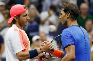 Lucas Pouille Ousts Rafa Nadal to Reach Quarters at US Open