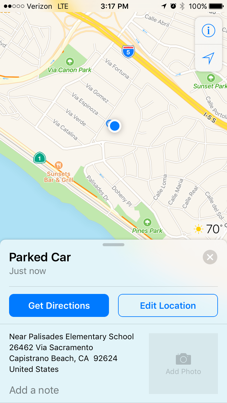 your-phone-will-now-automatically-tell-you-exactly-where-you-parked-your-car