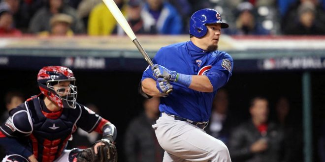 Kyle Schwarber Can Only Pinch Hit in Chicago Cubs' Home Games
