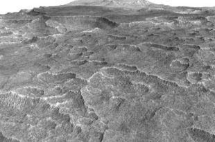 Huge Underground Ice Deposit on Mars is Bigger than New Mexico