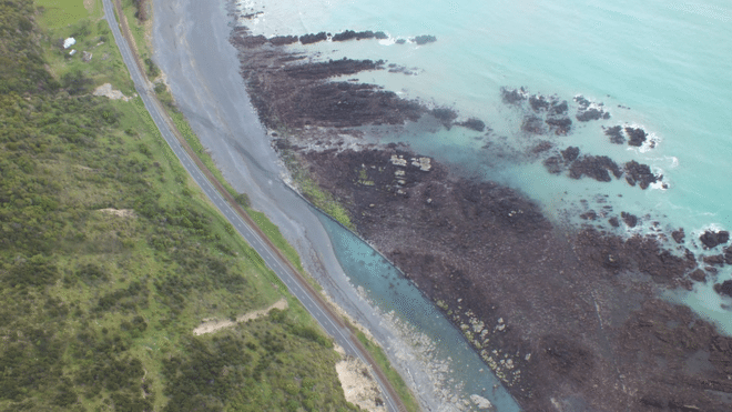"Tonkin and Taylor, an engineering firm surveying the damage, said a section of the seabed along a 110km stretch of coast north of Kaikoura was lifted by between 2-2.5m. Prof Nicol said this was likely due to ""reverse faulting""."