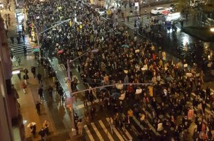 Millions of Protesters Take to Streets in US to Voice Anger at Donald Trump Presidency