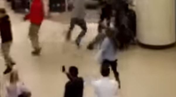 VIDEO Black Friday Brawl in California Goes Viral