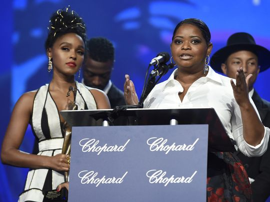 "'Hidden Figures,' said Octavia Spencer, ""serves as a reminder of what we can do when we get rid of isms... I hope it serves as a reminder that we can achieve the extraordinary."" (Photo: Chris Pizzello, Invision/AP)"