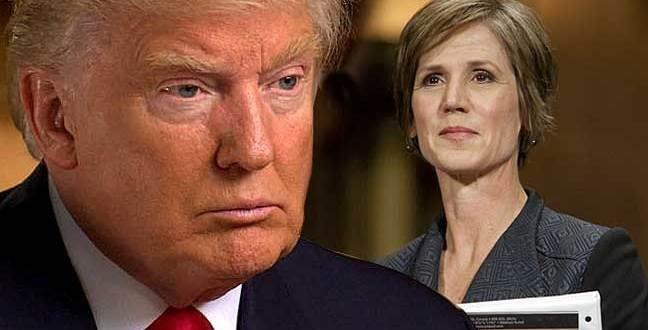 Donald Trump Fires Acting Attorney General Sally Yates Who Defied Him