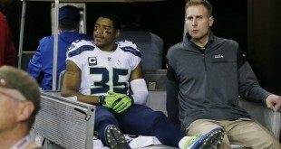 The Latest: Seattle Seahawks Cornerback DeShawn Shead Leaves with Knee Injury