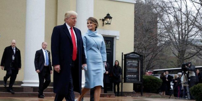 Melania Trump Draws Comparisons To Jackie Kennedy With Inauguration Day Outfit