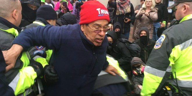 Inauguration Day 2017: Donald Trump's Supporters, Protesters Clash
