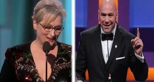 WATCH Dana White Attacks 'Uppity 80-Year-Old' Meryl Streep Over MMA Comments