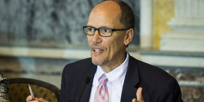 Tom Perez Elected as First Latino Leader of Democratic Party