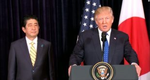 Prime Minister Shinzo Abe, Trump Show Unity in Condemning North Korea Missile Test