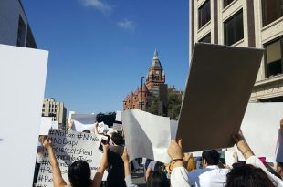 Immigrants March in Dallas, the People Will Continue to 'Resist'