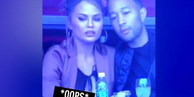 Chrissy Teigen Suffers Super Bowl Nip Slip, Has Best Reaction