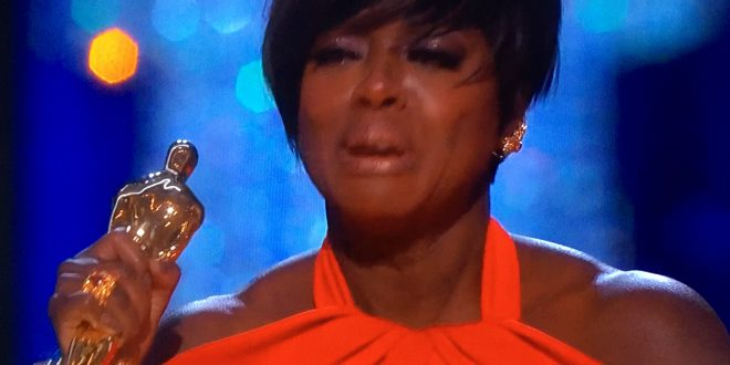 Viola Davis Accepts First Oscar for Best Supporting Actress With a Powerful, Tear-Filled Speech