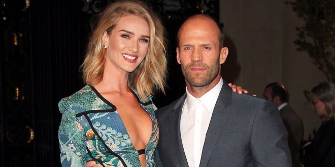 Rosie Huntington-Whiteley and Jason Statham Expecting First Child, Announces by Striking Beyoncé Pose