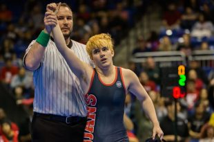Trinity High School Transgender Wrestler Booed After Winning Female Competition He Didn't Want to Be In