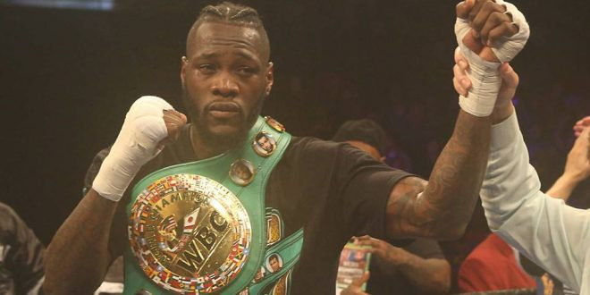 Patient Deontay Wilder Retains WBC Belt With TKO of Gerald Washington