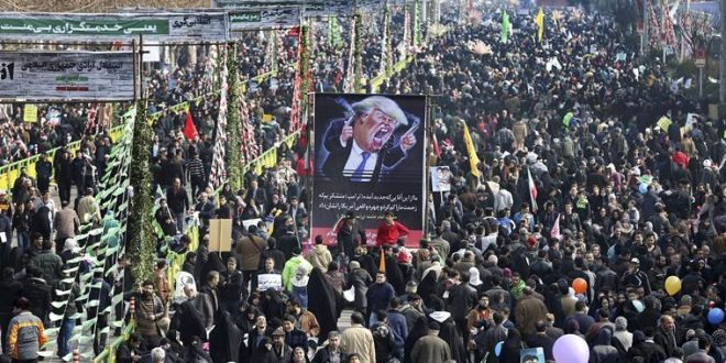 Hundreds of Thousands Rally in Iran Against Trump, Chant 'Death to America'