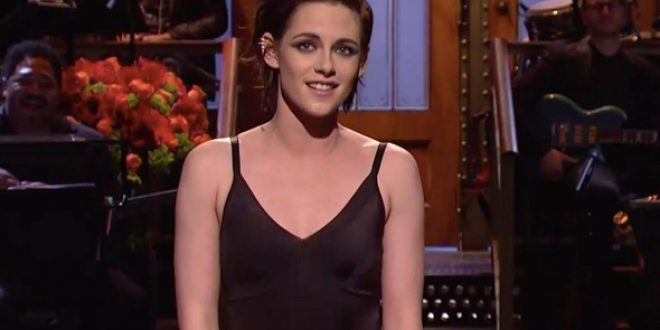 Kristen Stewart Addresses Donald Trump's Twitter Obsession, Drops F-Bomb on SNL