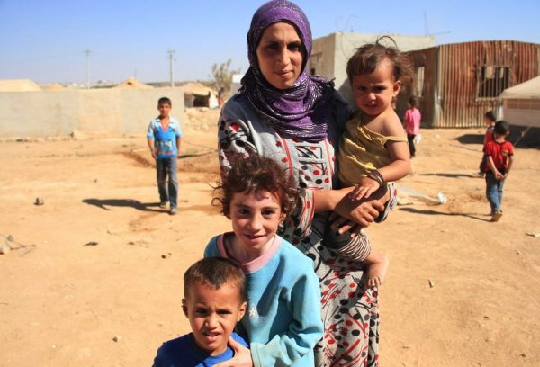 Syrian refugees living in camps and tents in northern Jordan. ©JTA