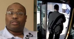Bus Driver On His Daily Route Spotted A Woman In Need -- What He Said Saved Her Life