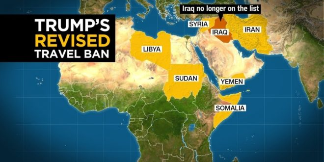Donald Trump Signs New Travel Ban Executive Order, Dropping Iraq From List
