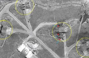Syria Missile Attack: Satellite Photos Show Major Damage to Airfields