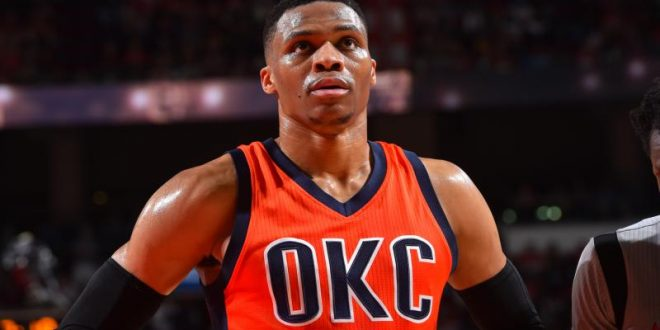 RUSSELL WESTBROOK TIES OSCAR ROBERTSON'S TRIPLE-DOUBLE RECORD VS. BUCKS