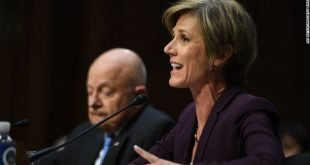 Sally Yates Testifies: 'We Believed Gen. Flynn Was Compromised'