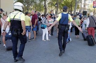 Barcelona Terror Attack: At Least 12 Dead After Van Plows into Crowd; 2 Suspects Arrested